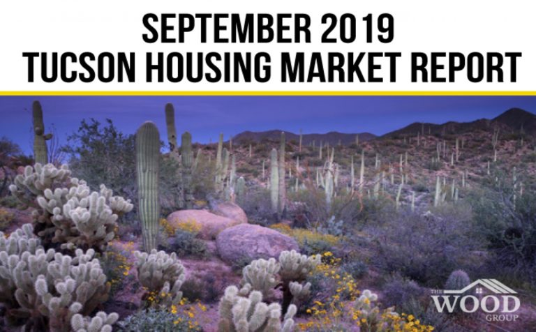 Read more about the article Tucson Real Estate Housing Market — September 2019