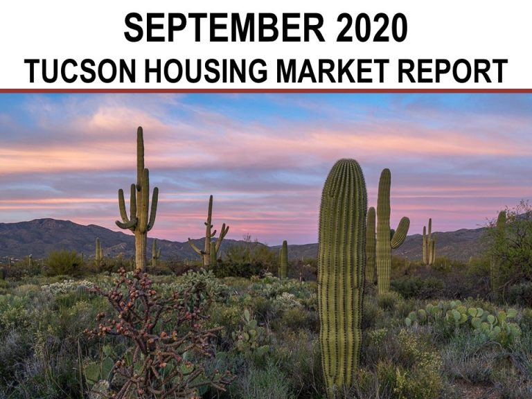 Read more about the article Tucson Real Estate Housing Market-September 2020