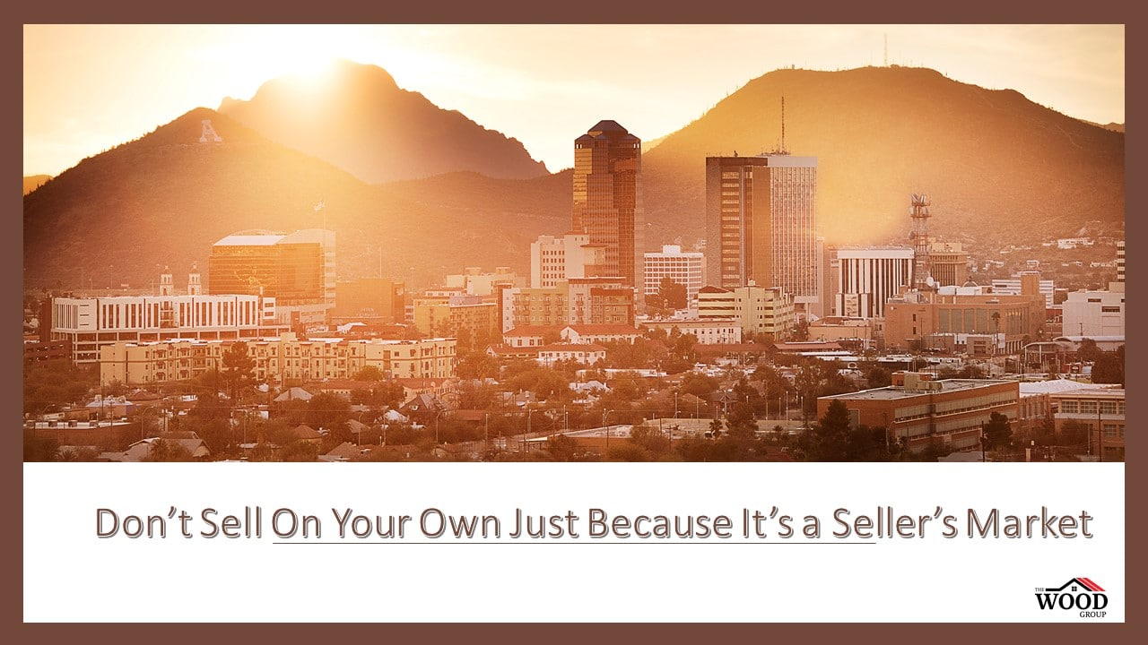 """Tuesday Tip: """"Don't Sell On Your Own Just Because It Is A Seller's Market"""""""