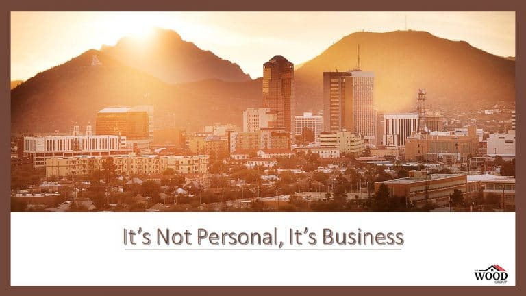 """Read more about the article """"It's Not Personal, It's Business"""""""